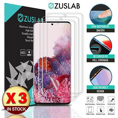AU8.95 • Buy For Samsung Galaxy S20 Plus Ultra S10 S9 Note 20 10 9 Plus 5G Screen Protector
