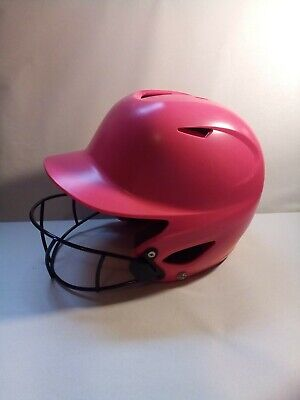 $14.99 • Buy Wilson A5427 Super Fit NOCSAE Softball Batting Helmet With Mask Pink 6 1/8-7 1/2