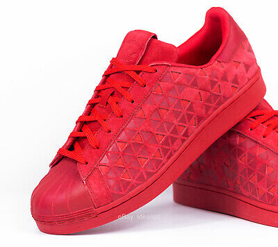 $ CDN79.41 • Buy Adidas Superstar Xeno Reflective Vivid Red Men's Size 11.5 Casual Shoes AQ8181