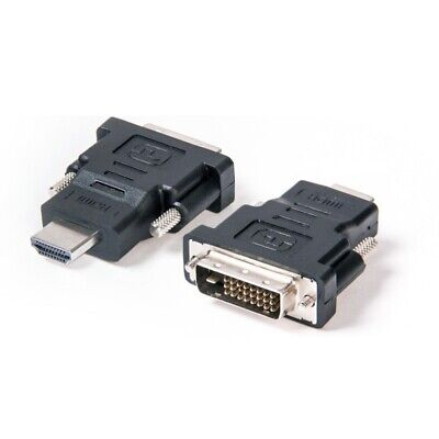 AU4.95 • Buy DVI D Male Dual Link To HDMI Female Converter Socket Cable Adapter Plug For HDTV