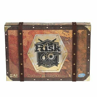 $30.99 • Buy New Risk 60th Anniversary Edition The Game Of Strategic Conquest By Hasbro