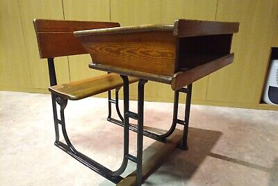 Vintage School Desk And Chair • 60£