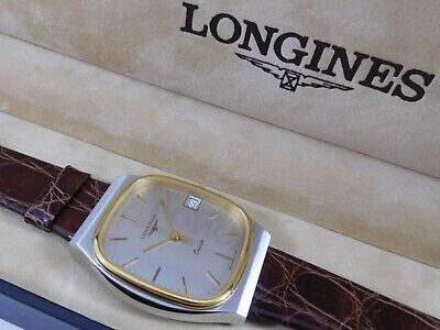 $ CDN350 • Buy LONGINES Square Case Ref. 3683 Cal. L950.2 Swiss 32mm Vintage Watch With Box