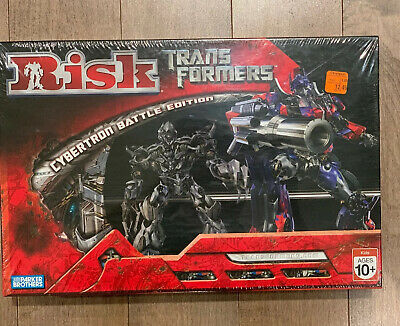 $12.12 • Buy NIB Sealed Risk: Transformers Cybertron Battle Edition Parker Brothers 2007
