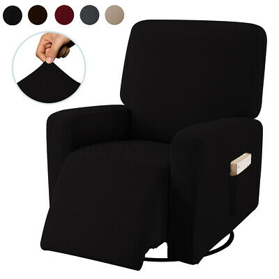AU41.99 • Buy Non Slip Recliner Chair Sofa Cover Stretch Furniture Couch Side Pocket