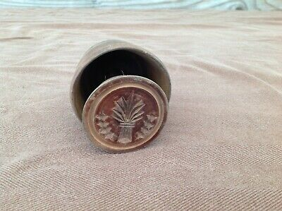 $ CDN82.59 • Buy Nice Antique Wood Butter Stamp Mold  Wheat Sheaf