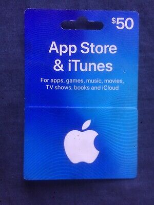 AU50 • Buy $50 Apple ITunes Gift Card