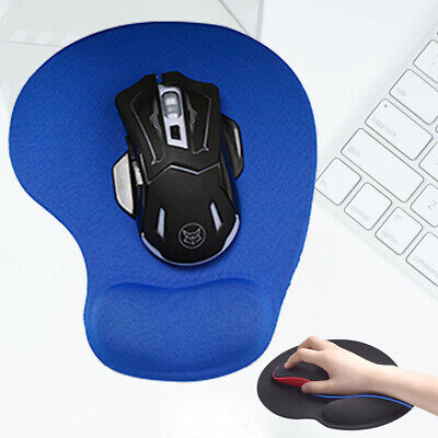 Mouse Pad Wrist Support Ergonomic Laptop Computer PC Non Slip Mice Mat Comfort • 2.55£