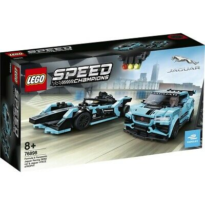 AU49 • Buy LEGO Speed Champions Formula E Panasonic Jaguar Racing Gen2 Car And Jaguar I-...