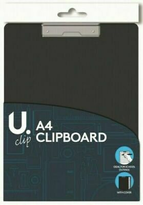A4 Clipboard Board Clip Fold Writing Holder Office Document Pad Hard Filing Hand • 2.69£