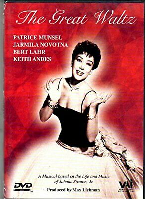 Strauss Jr. - The Great Waltz (Novotna, Lahr, Andes) [1955] [DVD] By Keith An. • 7.14£