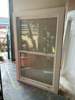 Wooden Double Glazed Sash Window - H2075mm X W1350mm • 550£