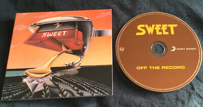 The Sweet - Off The Record CD 16 Tracks Super Enhanced Addiction - Andy Scott • 7.50£
