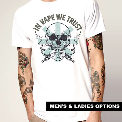 AU34.95 • Buy Drugs T-Shirt Cool Festival T-Shirts Skull Smoke Vape Weed Gift Funny Party Pen