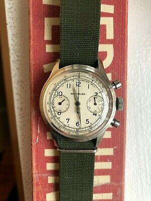 $ CDN1452.27 • Buy Vintage Wittnauer Chronograph Manual Wind Watch