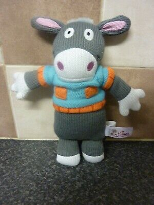 Latitude Enfant Small Soft Knitted Donkey Toy Excellent Condition • 8.95£