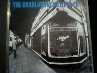 The Charlatans, Melting Pot Lp Cd,vg+ • 3£