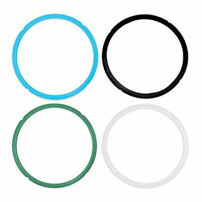 $12.18 • Buy Silicone Sealing Rings For Instant Pot 5 & 6 Quart Fits IP-DUO60 Pack Of 4