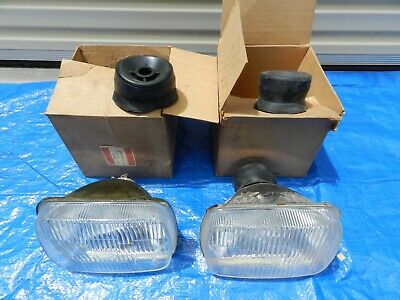 AU695 • Buy Nos Charger/lucas Front Headlights Suits 2 Door Charger Rt/ Never Fitted.