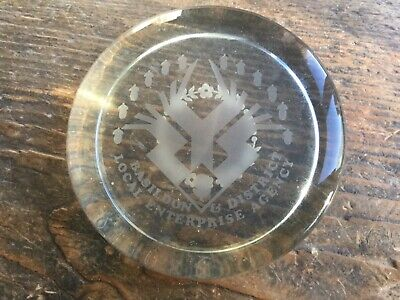 Glass Paperweight Basildon & District Local Enterprise Agency  • 0.99£