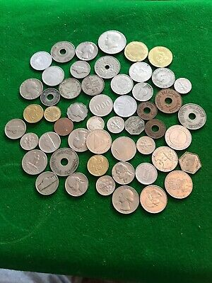 Job Lot Of Foreign Coins • 5£