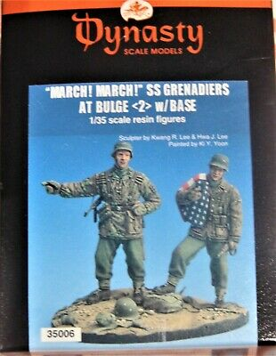Dynasty March! March! Ss Grenadiers At Bulge 1/35 Scale Resin Figures  • 12.50£