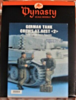 Dynasty German Tank Crew At Rest 1/35 Scale Resin Figures  • 12.50£