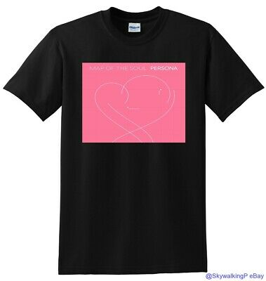 $21.99 • Buy *NEW* BTS T SHIRT Map Of The Soul Persona Vinyl Cover SMALL MEDIUM LARGE Or XL
