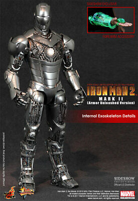 $ CDN527.77 • Buy HOT TOYS IRON MAN MARK II UNLEASHED SIDESHOW EXCLUSIVE Ver MMS150 1/6 Figure NEW
