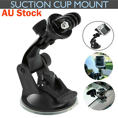 AU10.99 • Buy Car Suction Cup Mount Gopro Accessories Holder Bracket Stand Go Pro 3+ 4 5 6