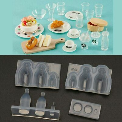 $6.69 • Buy Mini Silicone Glass Bottle Milk Drink Bottle Resin Casting Mold Food Play Mold