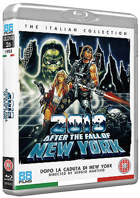 2019 After The Fall Of New York - Blu-Ray - Special Edition - Sergio Martino • 14.95£