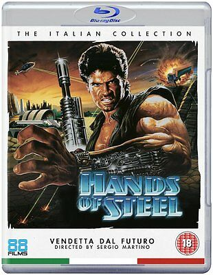 Hands Of Steel - Blu-Ray - Uncut Special Edition - Sergio Martino • 14.95£