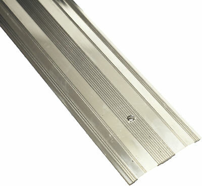 Carpet Metal Wide Cover Grip Cover Strip Door Bar Trim - Threshold Silver 900mm • 3.79£