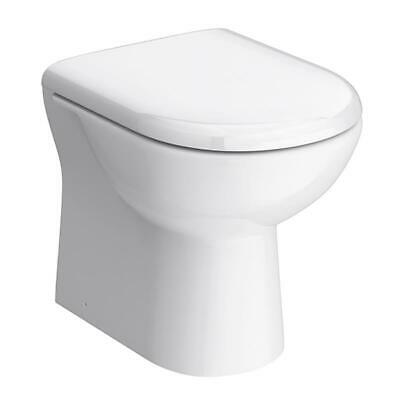 £87 • Buy VeeBath Pro Bathroom D Shaped Back To Wall BTW Pan SC Seat Compact 530 Project