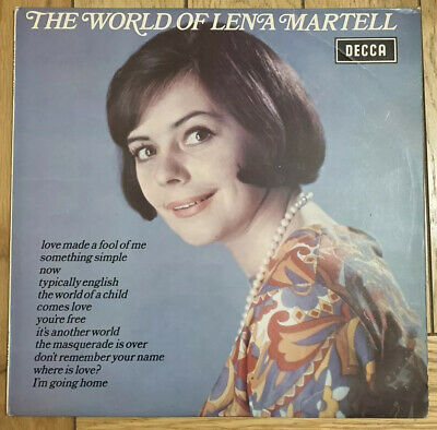 Lena Martell- The World Of- Vinyl Record • 2.45£
