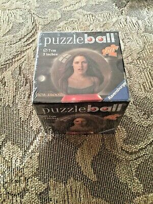 $4.99 • Buy Puzzle Ball 3D Twilight New Moon Bella 60 Pieces Ravensburger In Box