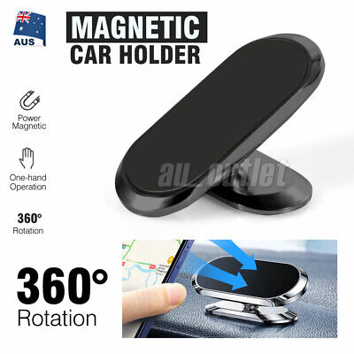 AU12.49 • Buy 360° Rotate Universal Magnetic Car Mount Dash Phone Holder For IPhone Galaxy GPS