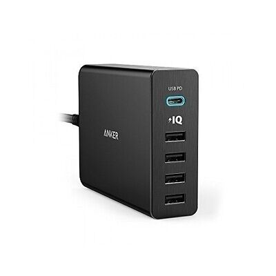 AU72.45 • Buy Anker PowerPort+ 5 USB-C Wall Charging Hub With Power Delivery