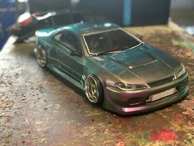 1:10 RC Clear Lexan Body Nissan Silvia S15 200mm Nitro Or Electric Colt • 20.09£
