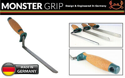 £13.45 • Buy MonsterGRIP Narrow Finger Tuck Pointer Jointing Trowel 6,8,10,12,14mm CORKHANDLE