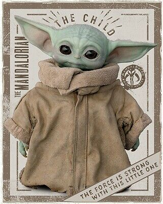 $8.49 • Buy Star Wars: The Mandalorian - Mini Tv Show Poster (baby Yoda - The Child)