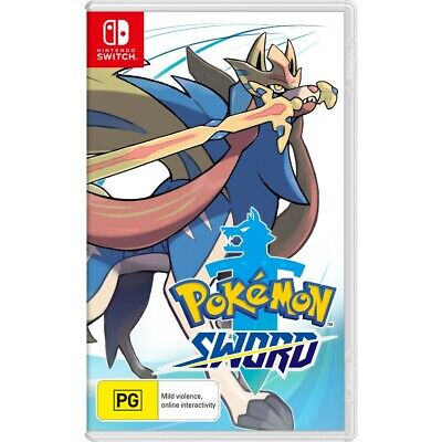 AU69 • Buy Pokemon Sword Nintendo Switch Game Brand New