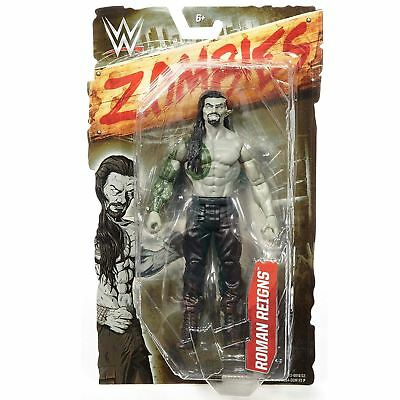 WWE DNY72 Zombies Roman Reigns Collectible Action Figure Toy • 9.99£