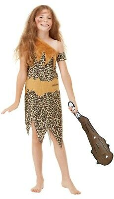 £17.99 • Buy Boys Girls Horrible Histories Cave Girl Boy Book Day Fancy Dress Costume Outfit