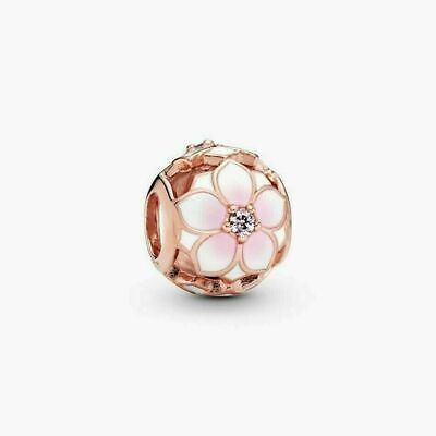 Genuine Pandora Rose Gold Magnolia Bloom Charm 782087NBP ALE MET • 15.99£