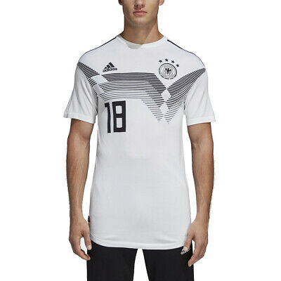 Adidas Soccer Men's Germany Home Jersey White Soccer Jersey CE8462 NEW • 81.03£