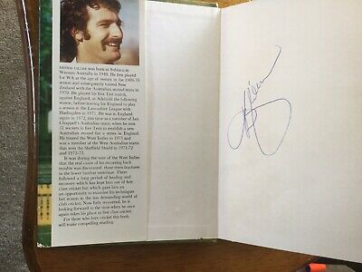 AU49.95 • Buy Dennis Lillee Signed Book - Back To The Mark - SIGNED BY LILLEE INSIDE