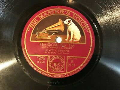 £10.99 • Buy SAVOY HAVANA ORPHEANS On HIS MASTERS VOICE B. 2183 - THE CO-ED / DINAH