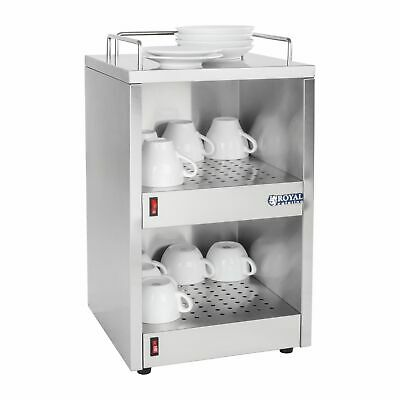 Commercial Catering Buffet Cup Warmer Cupboard 72 Cup Heater Cabinet 3 Shelves • 199£